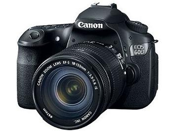Canon EOS-60D DSLR Camera Kit with Canon EF-S 18-135mm IS Lens