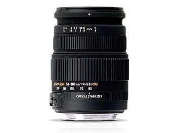Sigma 55-200mm F4-5.6 DC OS HSM Lens - Pentax Mount