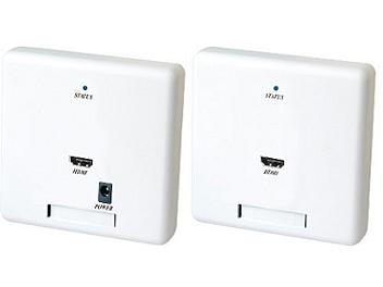 Globalmediapro SHE HW02E Wall Plate HDMI CAT5 Extender (Transmitter and Receiver)