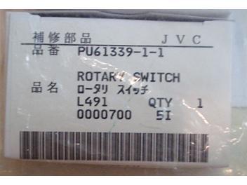 JVC PU61339-1-1 Rotary Switch
