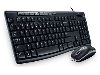 Logitech MK200 Media Keyboard (pack 10 pcs)