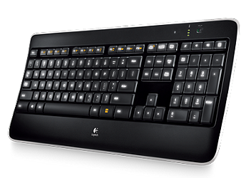 Logitech K800 Wireless illuminated Keyboard (pack 4 pcs)