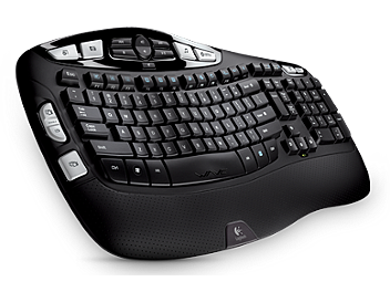 Logitech K350 Wireless Keyboard (pack 4 pcs)