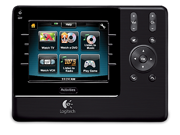 Logitech Harmony 1100 Universal Remote (pack 4 pcs)