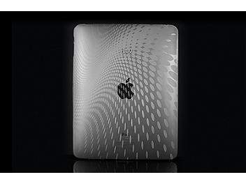 iLuv ICC802Clr iPad Case with Dot Ware Pattern - Clear