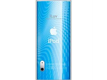 iLuv ICC309BLU iPod Case with Wave Pattern - Blue