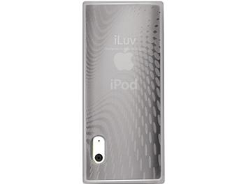 iLuv ICC309WHT iPod Case with Wave Pattern - White