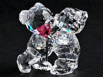 Swarovski 1077419 Kris Bear A Rose for You