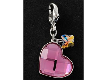 Swarovski 1035252 Mini Heart Charm