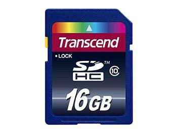 Transcend 16GB Class-10 SDHC Memory Card