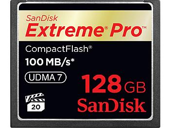 SanDisk 128GB ExtremePro CompactFlash Memory Card 100MB/s (pack 2 pcs)