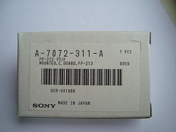 Sony A-7072-311-A (FP-213) Mounted C.Board