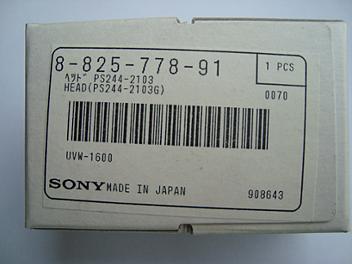 Sony 8-825-778-91 Head (PS244-2103G)