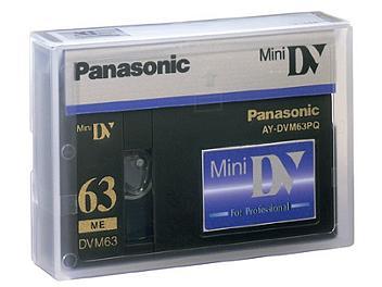 Panasonic AY-DVM63PQ mini-DV Cassette (pack 30 pcs)