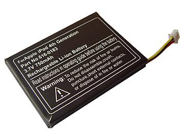 Globalmediapro PA-A004 MP3 Battery for iPod-4