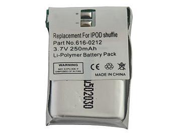 Globalmediapro PA-A008 MP3 Battery for iPod Shuffle