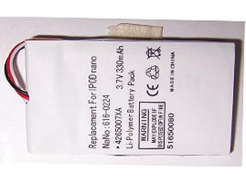 Globalmediapro PA-A009 MP3 Battery for iPod Nano