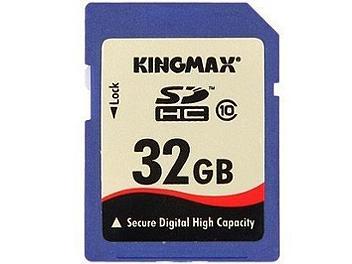 Kingmax 32GB Class-10 SDHC Memory Card (pack 2 pcs)