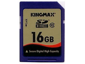Kingmax 16GB Class-10 SDHC Memory Card (pack 5 pcs)
