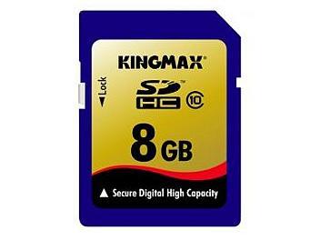 Kingmax 8GB Class-10 SDHC Memory Card (pack 10 pcs)