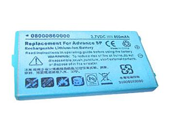 Globalmediapro PA-NN002 Battery for Nintendo Advance SP