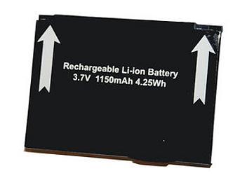 Globalmediapro CP-MF2200 Battery for Novatel MiFi 2200
