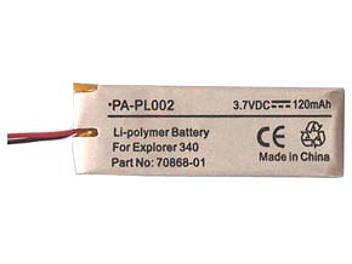Globalmediapro PA-PL002 Battery for Plantronics Explorer 340
