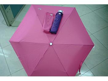 Swarovski Crystal Deep Pink Umbrella