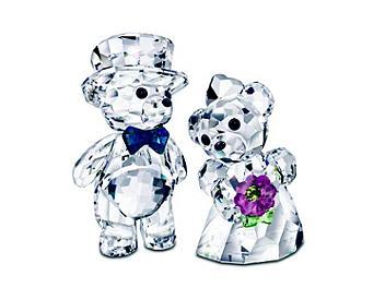Swarovski 842936 Kris Bear You And I, Bride And Groom