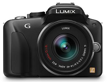 Panasonic Lumix DMC-G3 Camera PAL Kit with 14-42mm Lens - Black