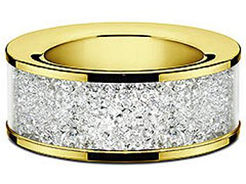 Swarovski 1068985 Gold Tea Light Candle Holder
