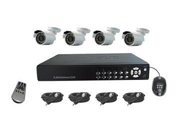 Senview D8004B-WK3 4-Channel DVR & Camera Kit PAL