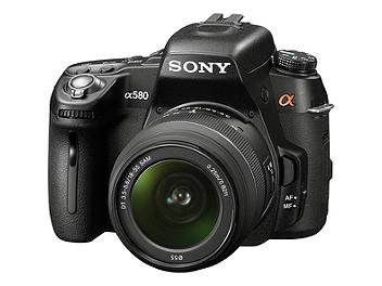 Sony Alpha DSLR-A580 DSLR Camera Kit with Sony 18-55mm Lens