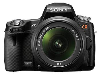 Sony Alpha SLT-A35 DSLR Camera KIt with Sony 18-55mm Lens