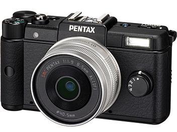 Pentax Q Mirrorless Camera with Pentax 8.5mm Lens - Black