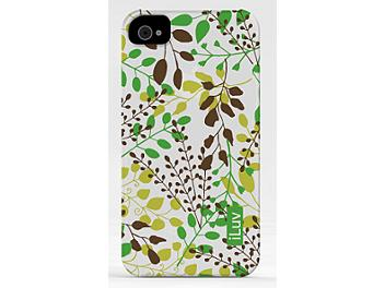 iLuv iCC736GRN iPhone Nature Soft Coated Ultra Thin Case - Green
