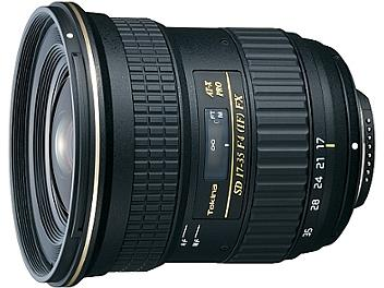 Tokina 17-35mm F4 AT-X Pro FX Lens - Canon Mount
