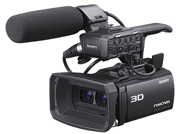 Sony HXR-NX3D1 3D NXCAM Camcorder