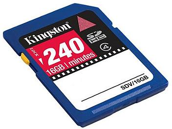 Kingston 16GB Class-4 SDHC Video Memory Card