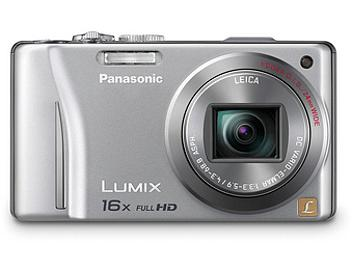 Panasonic Lumix DMC-ZS10 Digital Camera - Silver