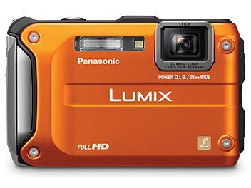 Panasonic Lumix DMC-TS3 Digital Camera - Orange