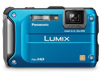 Panasonic Lumix DMC-TS3 Digital Camera - Blue
