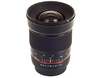 Samyang 24mm F1.4 ED AS UMC Lens - Pentax Mount