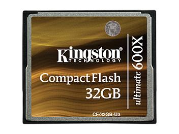 Kingston 32GB CompactFlash Ultimate 600x Memory Card (pack 5 pcs)