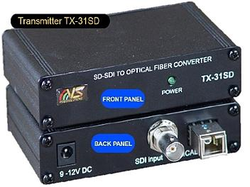 VideoSolutions TX-31SD SD-SDI Fiber-Optic Transmitter