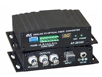 VideoSolutions AF-201AV Fiber-Optic Transmitter PAL