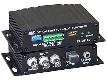 VideoSolutions FA-201AV Fiber-Optic Receiver PAL