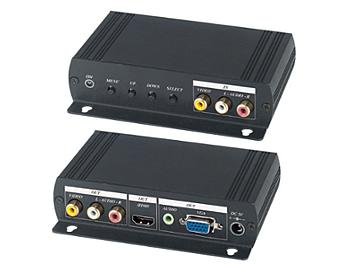 Globalmediapro SHE AD001HH High Resolution Video to VGA & HDMI Converter