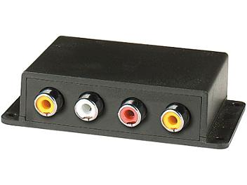 Globalmediapro SCT CE02A Audio Video CAT5 Extender (Transmitter and Receiver)