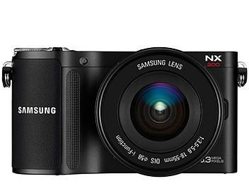 Samsung NX200 Mirrorless Camera with Samsung 18-55mm Lens - Black